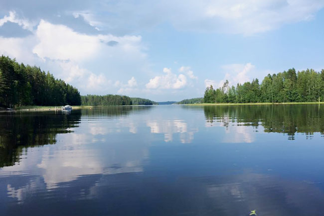 Lake Saimaa is the largest lake in Finland -- and it's a huge draw for vacationing Finns and other travelers. Photo by Janna Graber