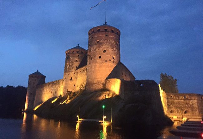 Olavinlinna Castle is home to the Savonlinna Opera Festival. Photo by Janna Graber