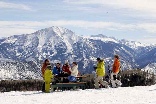 Skiing at Sunlight Mountain Resort in Glenwood Springs, Colorado. Photo by Ski Sunlight