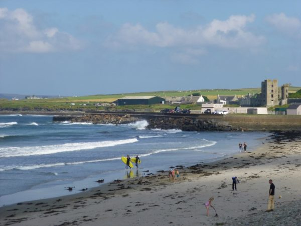 Thurso beach. Photo by Andrea Wotherspoon