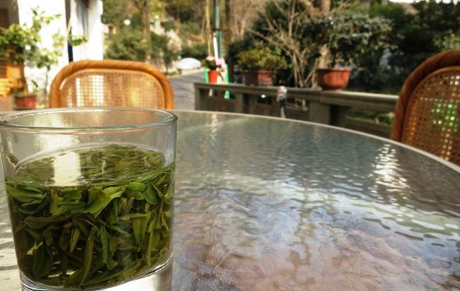 Longjing Village is known for its green tea. Flickr/macchi