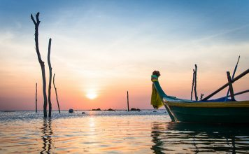 Sunset in Ko Lanta Thailand. Photo by Thai National Parks