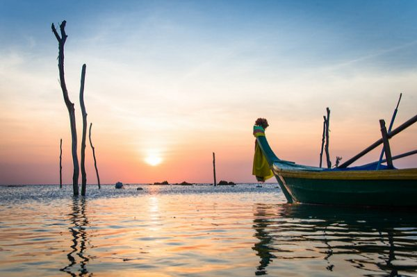 Sunset in Ko Lanta Thailand. Photo by Thai National Parks