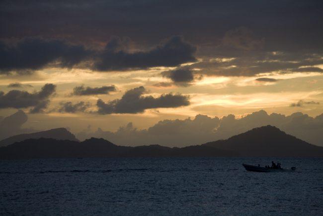 Sunset in Chuuk, Micronesia. Flickr/Jim Fruchterman