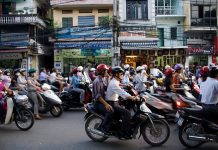 A street in Hanoi. Photo by Flickr/Nam-ho Park