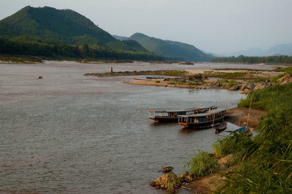 The Mekong is a trans-boundary river in Southeast Asia. Photo by Flickr/crosby_cj