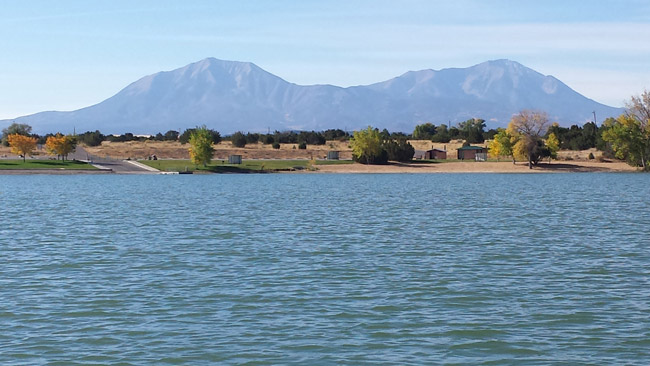 Set beneath the gaze of the Spanish Peaks in southern Colorado is Lathrop State Park near Walsenburg. Photo by Carrie Dow