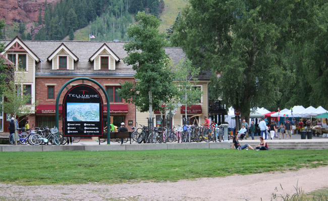 Telluride, Colorado is located in the southwestern part of the part. Photo by Carrie Dow
