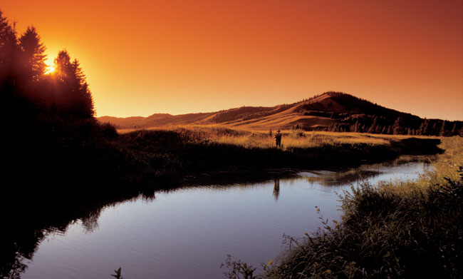 Travel in Saskatchewan - Fishing enthusiasts of all skill levels will find a challenge among Saskatchewan's diverse fish species. Photo by Paul Austring