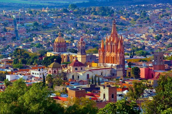 San Miguel de Allende. Photo by Flickr/Jiuguang Wang