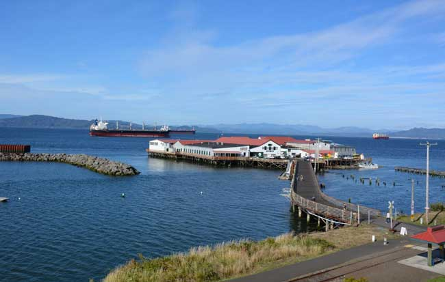 Port of Astoria, East Mooring Basin. Photo by Jim Pond