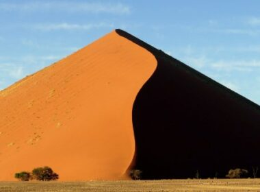 Nambia. Dune Shadow - Sossusvlei. Photo by Jeanne Block