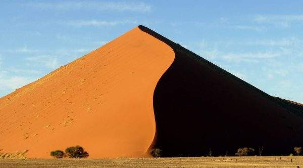Namibia. Dune Shadow - Sossusvlei. Photo by Jeanne Block