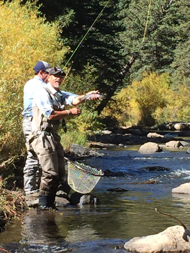The expert guides at Broadmoor Fishing Camp