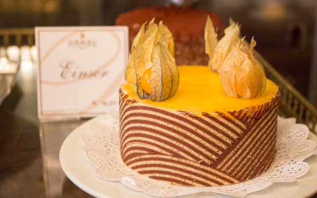 Cafe Demel is known for their exquisite pastries. Photo by Janna Graber