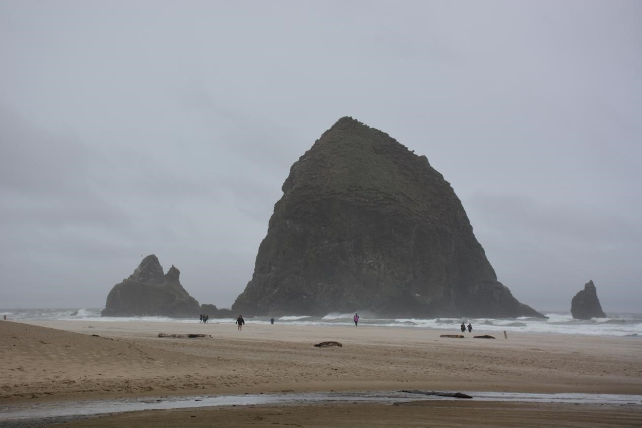 Haystack Rock on Cannon Beach, Oregon. Photo photo by Jim Pond