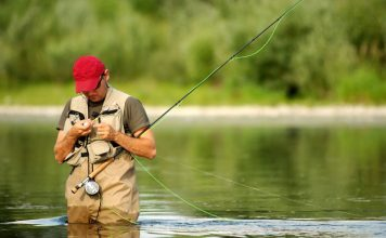 Colorado is known for its excellent fly-fishing.