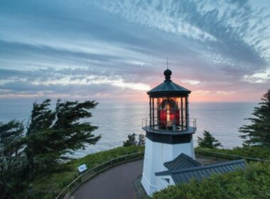 Cape Mears Lighthouse, Tillamook Coast. Photo by Visit Tillamook Coast