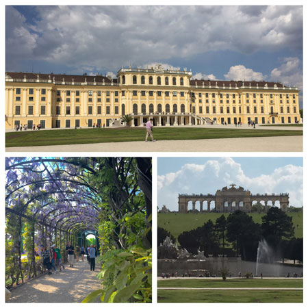 Schönbrunn Palace was the summer residence of the royal Habsburg family. Photos by Janna Graber