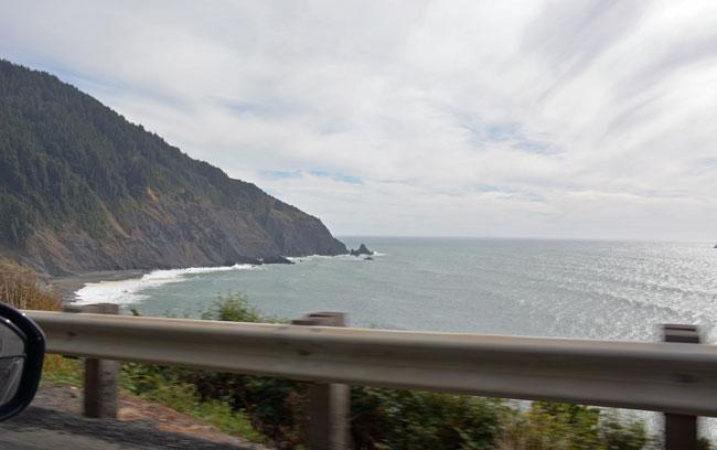 Southern Oregon Coastal drive. Photo by Debbie Miller Pond