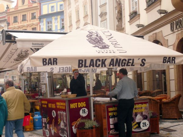 The Black Angel stall. Photo by Wynne Crombie