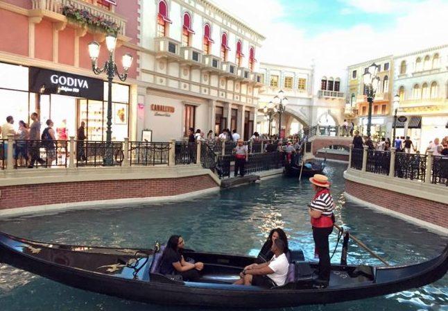 The Venetian in Las Vegas. Photo by Janna Graber