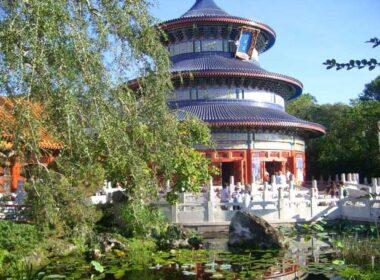 The China Pavilion at Epcot, Walt Disney World. Photo by Janna Graber