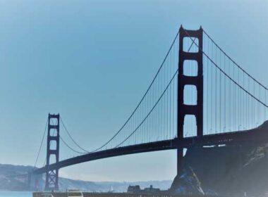 The Golden Gate Bridge in San Francisco, California. Photo by Jim Pond