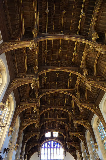 Hampton Court Palace timber roof