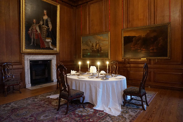 Hampton Court Palace dining room