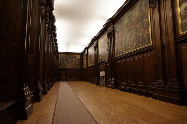 Gallery at Hampton Court Palace