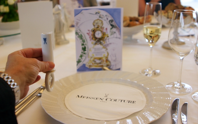 Meissen porcelain dinner setting