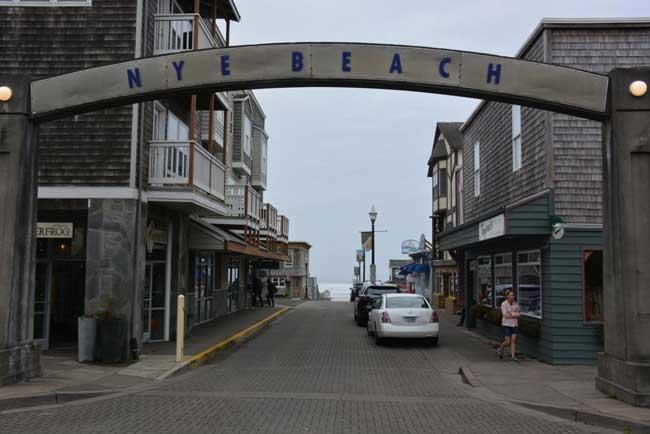 Historic Nye Beach in Newport, Oregon. Photo by Jim Pond