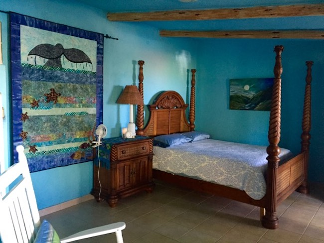 A casita at Baja Beach Oasis, photo by Claudia Carbone