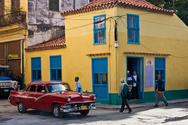 Classic cars are everywhere in Cuba because of Fidel Castro's ban on car imports. Photo by Rob Born
