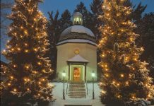 The Silent Night Chapel in Oberndorf. Photo by Austrian Tourist Office.