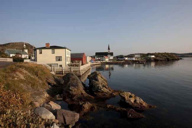 Shoreline in Trinity, Newfoundland. Photo by Barrett & MacKay Photo