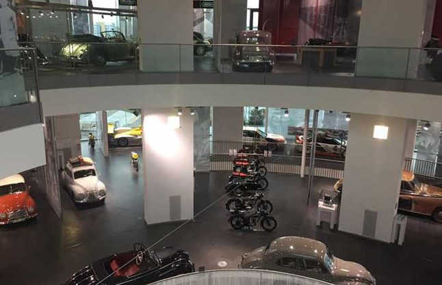 The Audi Museum Mobile offers daily tours in English. Photo by Janna Graber