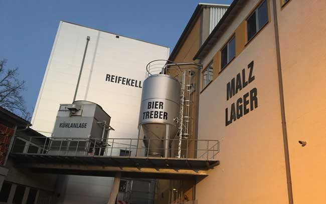 The Berg Brewery in Ehingen offers tours and beer-making classes. Photo by Benjamin Rader