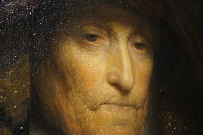 The Artists Mother by Rembrandt