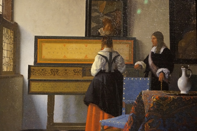 The Music Lesson Vermeer