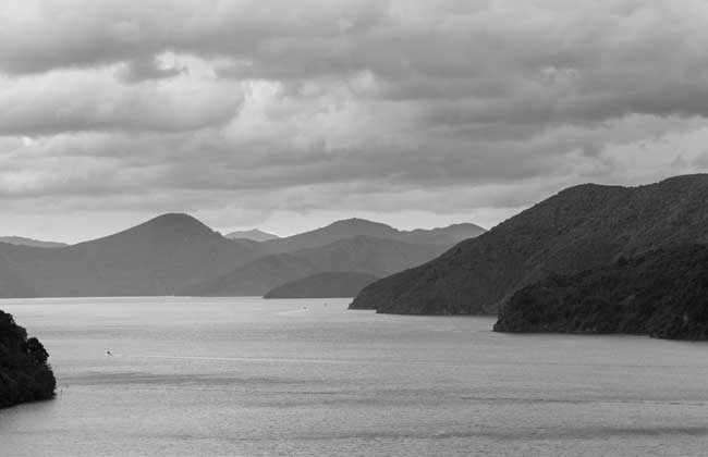 Queen Charlotte Sound. Flickr/russellstreet