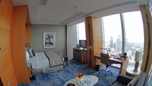 Iconic City View Room at the Shangri-La