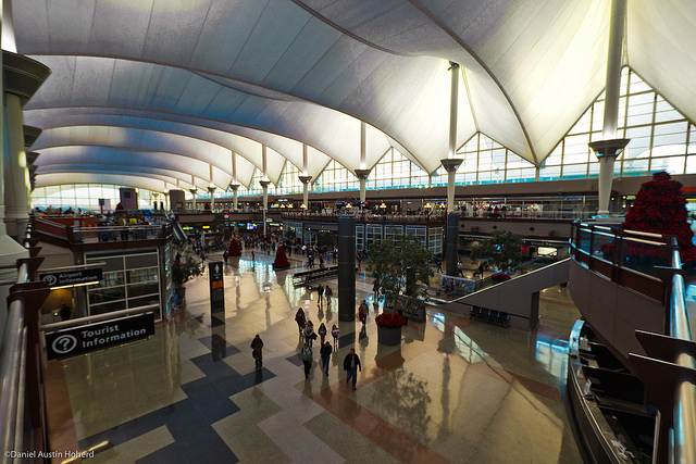 Denver International Airport. Flickr/Daniel Hoherd