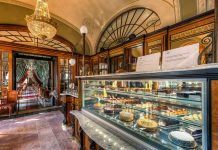 Cafe Gebreaud in Budapest is known for their scrumptious pastries. Flickr/Miroslav Petrasko