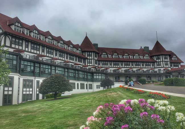 Algonquin Resort in St. Andrews By-The-Sea. Photo by Carri Wilbanks