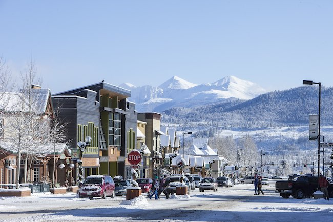 Frisco, Colorado, Winter, photo by Todd Powell