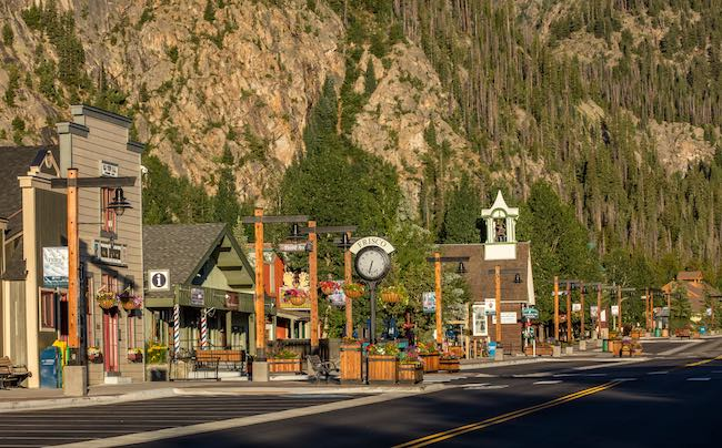 Main Street, Frisco, Colorado, photo by Todd Powell