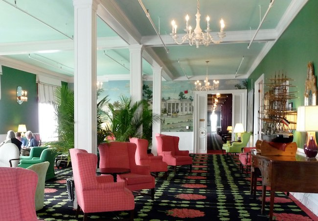 Grand Hotel parlor, photo by Claudia Carbone