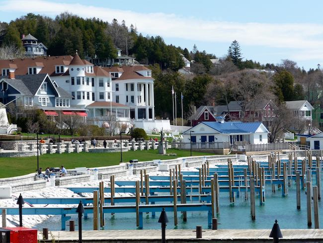 Historic homes by the pier, photo by Claudia Carbone